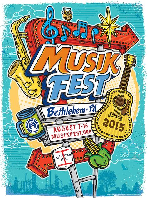 Musikfest 2015 poster highlights area's history - The ...