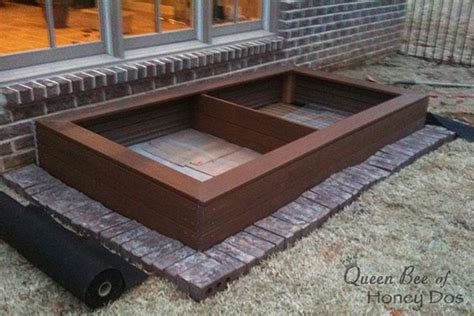 A raised garden bed requires no digging, and you can customize it to any height or size. DIY Composite Raised Garden • Queen Bee of Honey Dos