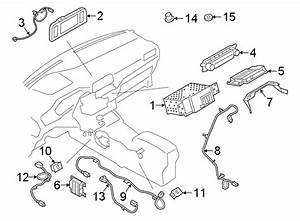 Ford Escape Audio Auxiliary Jack Connector  Receiver  Sync