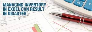 Managing Inventory in Excel can Result in Disaster