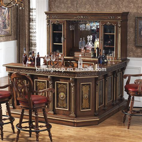 Buy Bar Furniture by American Countryside Style Bar Counter Set Wooden Wine