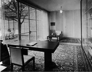 Möbel Mit Dessau : mies van der rohe haus arbeitszimmer mit schreibtischkombination um 1937 foto max krajewsky ~ Watch28wear.com Haus und Dekorationen
