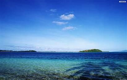 Sea Mar Azul Desktop Wallpapers Tahiti Backgrounds