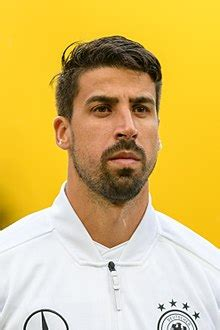 Sami khedira of germany celebrates with teammates scoring his team's fifth goal as brazil players look dejected during the 2014 fifa world cup brazil. Sami Khedira - Wikipedia