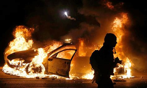 man finally sentenced  ferguson riot fire