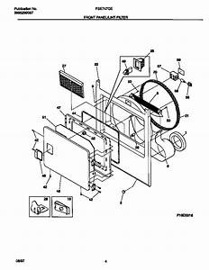 Frigidaire Dryer  Parts Diagram For Frigidaire Dryer