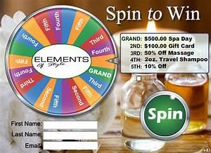 Hair Salon / Spa marketing with a Virtual Prize Wheel ...