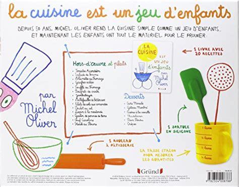 la cuisine pour les enfants coffret la cuisine est un jeu d 39 enfants michel oliver