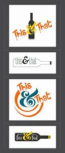 39THIS THAT39 A Wine Shop Logo Studio 7 Pinterest
