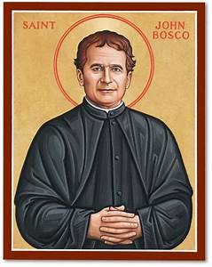 Men Saint Icons: St John Bosco Icon Monastery Icons