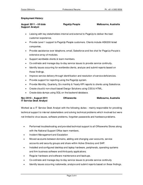 professional resume writers melbourne lineup realizace