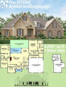 house plans one story with bonus room ideas photo gallery plan 51735hz southern home plan with bonus room