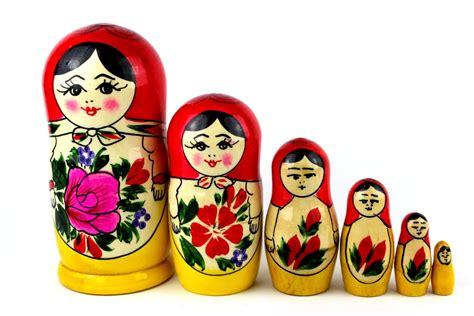 russische puppen ineinander matrjoschka erlangen wladimir