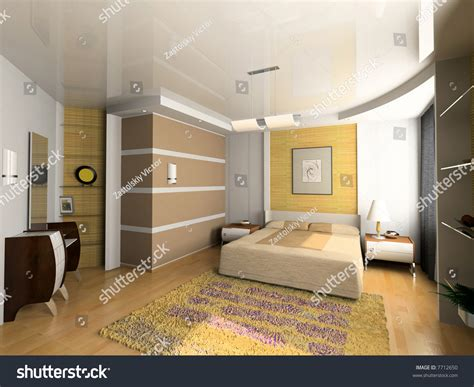 bedroom interior design computer generated image modern bedroom interior design computer generated image Modern