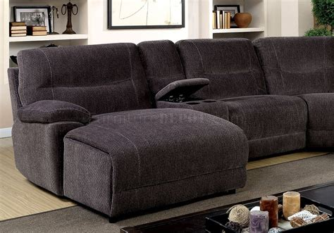 Zuben Reclining Sectional Sofa Cm6853 In Gray Chenille Fabric Wooden Sofa Furniture Images How To Clean Cloth Fabric Best Futon Bed Australia Replacement Mattress For Queen Sleeper Most Beautiful Leather Sofas In Dallas Area Melbourne Madrid Barato