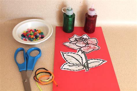 craft activities  elderly nursing home residents
