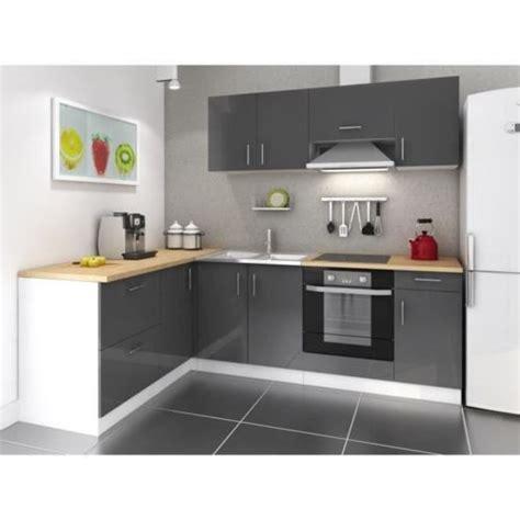 mcd cuisine complete 280 cm laqu 233 gris cosy pas cher achat vente cuisine compl 232 te