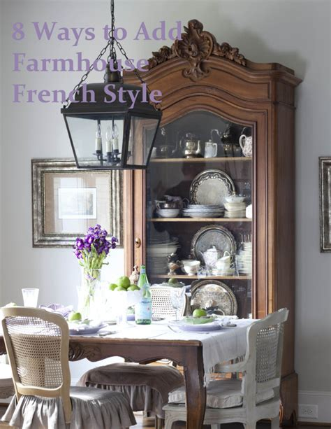 How To Add Farmhouse French Style The Free Ebook Cedar