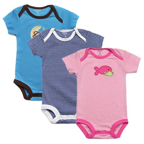 Infant Clothes by 3pcs Baby Rompers Summer Baby Clothes Unisex Newborn