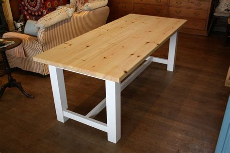 country kitchen tables with benches farmhouse style table the wooden workshop oakford 8464
