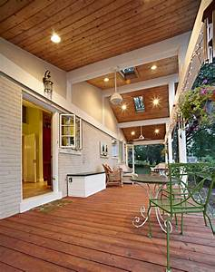 St, Louis, Porch, Ceiling, Beadboard, Porch, Farmhouse, With, Landscape, Architects, And, Designers, Metal
