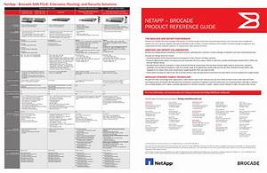 Brocade Netapp  U2013 Product Reference Guide User Manual
