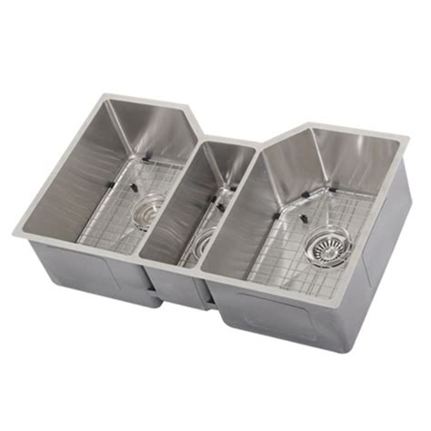 ticor tr undermount stainless triple bowl square kitchen sink accessories