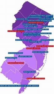 Check Out The Map Of The Best Outlets  U0026 Malls In New Jersey