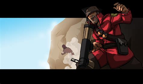 #tf2 #teamfortress2 #tf2demoman #tf2soldier #screamfortress #tf2halloween #tavish degroot #john doe #i have been painting this for almost 2 weeks and i am very tired and wish everyone a pleasant holiday. 49+ Soldier Wallpaper TF2 on WallpaperSafari