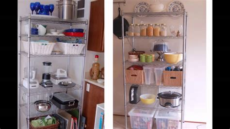 kitchen wire shelving youtube