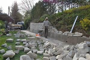 Steinmauern Im Garten Selber Bauen : steinmauer garten ~ Avissmed.com Haus und Dekorationen
