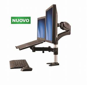 Supporto Da Scrivania Per Monitor E Notebook