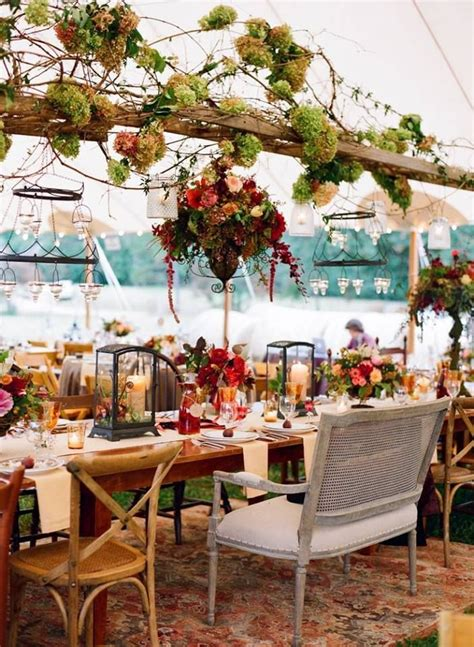In This Boho Vintage Table Setting Chairs Dont Need To