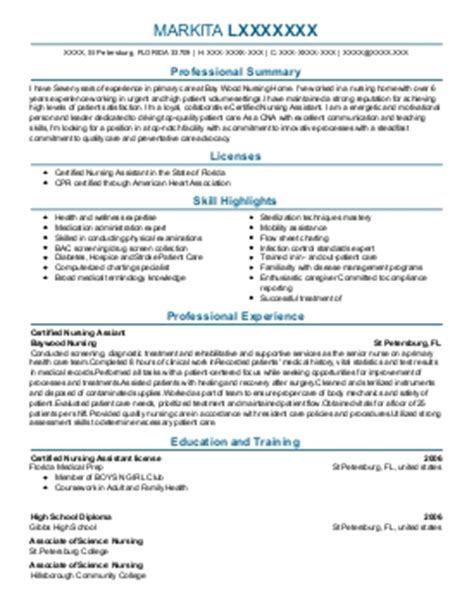 director center for quality improvement resume exle