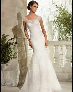 wedding dress sales newest cap sleeve lace wedding dress mermaid scoop neck wedding gown 2016 sale bridal
