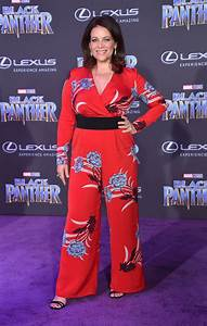 MEREDITH SALENGER At Black Panther Premiere In Hollywood