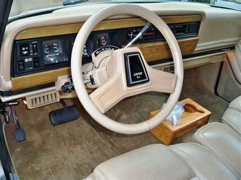 1991 jeep wagoneer interior 1990 jeep grand wagoneer interior grand wagoneer pinterest