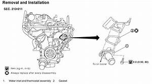 Service Manual  How To Install Thermostat In A 2010 Nissan