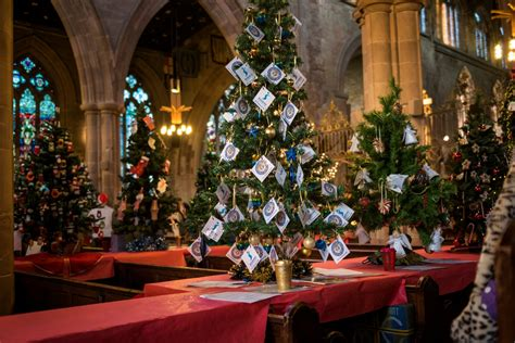 tamworth christmas tree festival birmingham