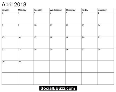 april si e social april 2018 calendar free elsevier social sciences