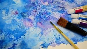 Farbe Fixieren Mit Salz : salt painting technique i maltechnik mit salz i ~ Watch28wear.com Haus und Dekorationen