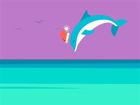 Dolphin Jump By Zane Corn