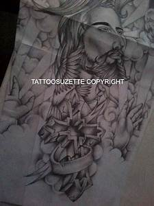 Religious sleeve tattoo design by tattoosuzette on DeviantArt
