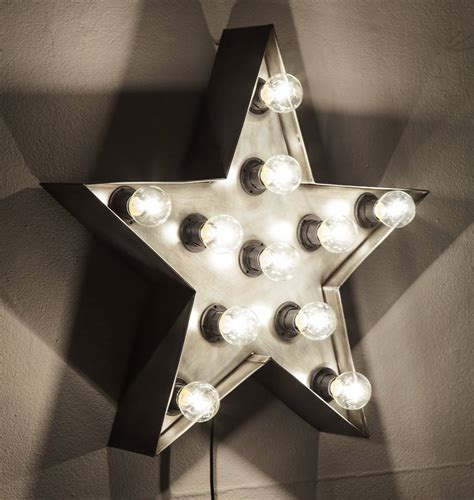 star wall light by i love retro notonthehighstreet com