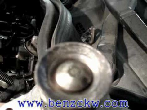 egr valve  benz cdi operationmpg youtube
