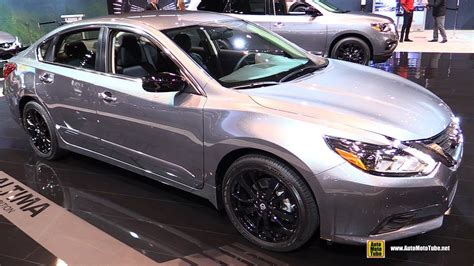 2017 Nissan Altima Interior by 2017 Nissan Altima Sr Midnight Edition Exterior And