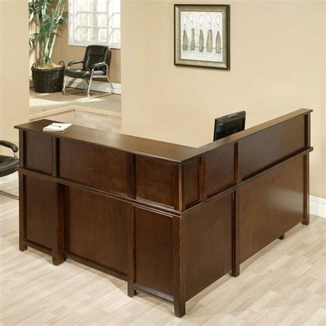 l shaped executive desk with hutch martin furniture tribeca loft cherry lhf l shaped