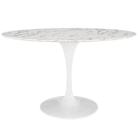 marble tulip dining table modern saarinen tulip 54 quot oval marble dining table replica new