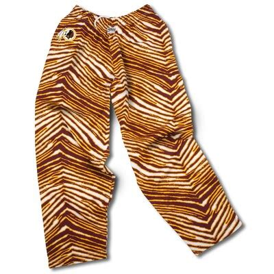 The designers formed their company with the slogan dare to be different, and in that spirit they made their pants with crazy designs. Washington Redskins Zubaz Pants - Burgundy/Gold - Fanatics.com