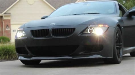 matte black bmw  inspiration youtube